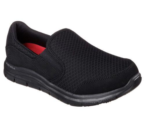 Skechers Viscoelástica Flex Zapato Trabajo Mujer Nuevo Espuma 76580 Cómodo Negro R1wq44
