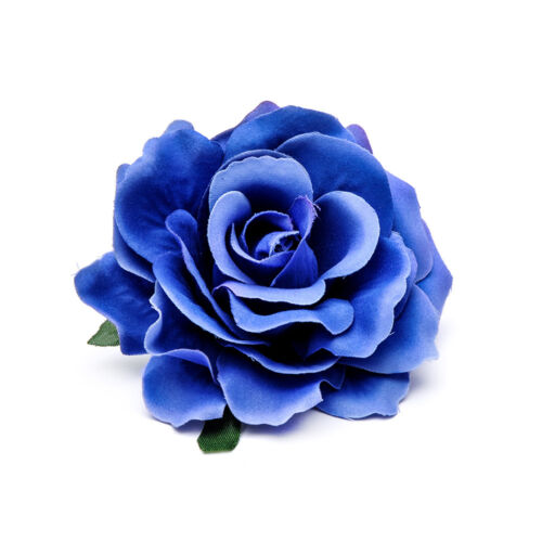 Elegant Women Bridal Cloth Rose Flower Hair Clip Hairpin Brooch Pins Accessory