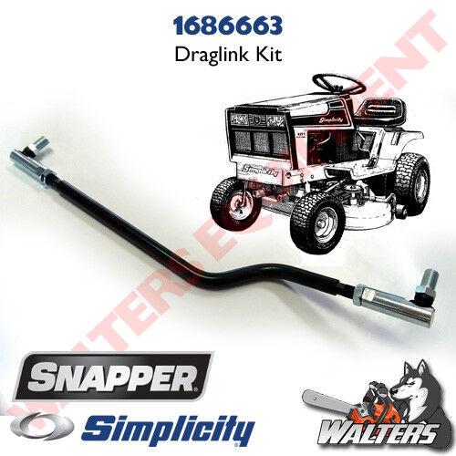 Genuine Simplicity 1686663 Drag Link Kit 4211, 4211H, 4208