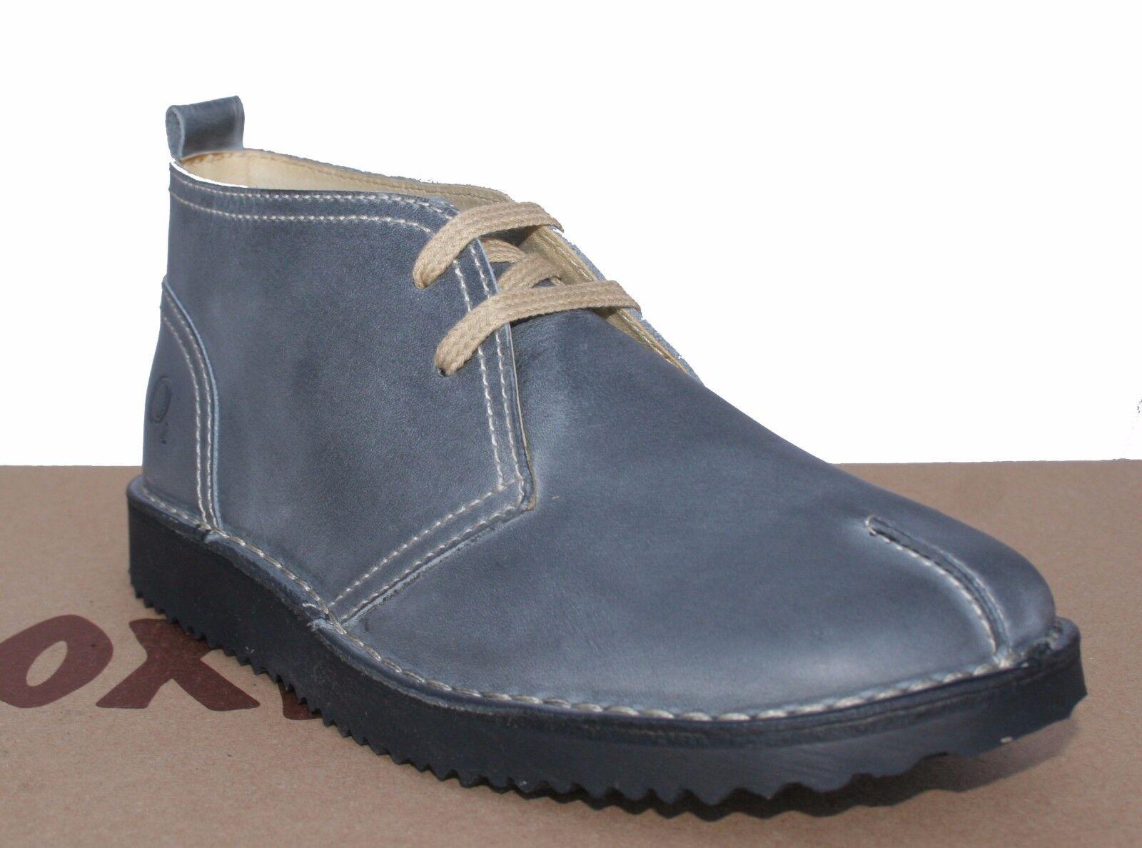 Puntada de oxígeno oxígeno oxígeno botín Essen gris-Azul Tallas 37-41 (UK 4 -7.5)  moda