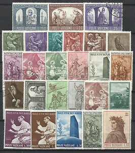 VATICAN-STAMP-COLLECTION-PACKET-of-25-DIFFERENT-Stamps-NICE-SELECTION