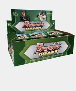 2020 Bowman Draft Baseball Jumbo Box x1 Random Team Break! #11 FREE SHIP