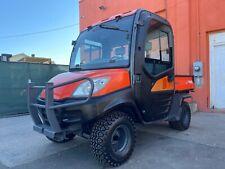 2013 Kubota Rtv1100 4x4 Acheat Hydraulic Dump 3 Speed Diesel 840 Hr