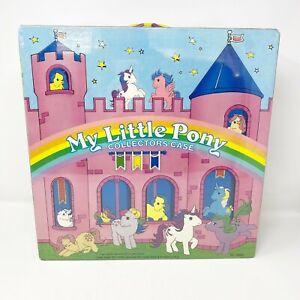 Vintage 1985 Hasbro My Little Pony Collectors Case G1 Carry Case
