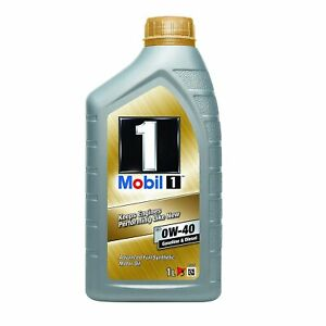 mobil 1 fs 0w 40 fully synthetic engine oil 1l bmw vw porsche vauxhall ebay. Black Bedroom Furniture Sets. Home Design Ideas