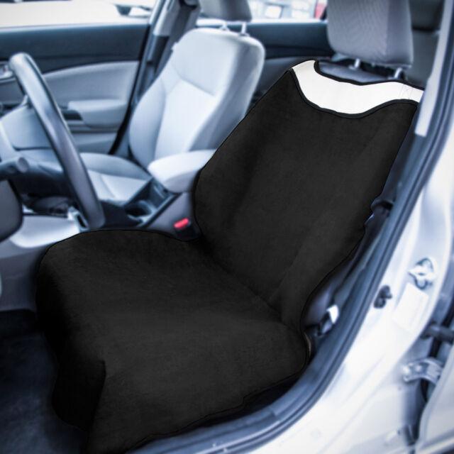Black Sweat Towel Car SUV Seat Cover Mat Protector Sport Yoga Gym Swimming Beach