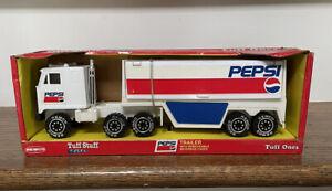 Vintage Collectible 1991 Remco Tuff Ones Pepsi Cola Semi Tractor Trailer NIB!