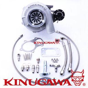 Kinugawa-Ball-Bearing-Turbo-4-034-GTX3076R-AR-82-T3-Internal-Wastegate-Swing-Valve