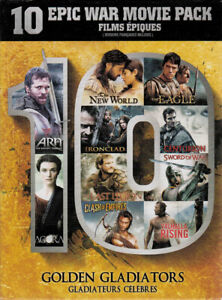Golden-Gladiators-10-Epic-War-Movie-Pack-Arn-New-DVD