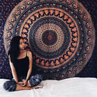 Indian Tapestry Wall Hanging Mandala Queen Bedspread Boho Art Throws Yoga Mats