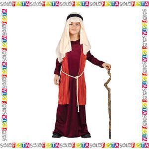 Costume Pastore San Giuseppe Pastorello da Bambino per