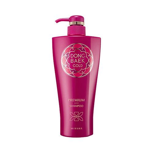 [MISSHA] Dong Baek Gold Premium Shampoo - 500ml