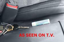SET OF 2 CAR SEAT GAP BLOCKERS patented STOP DROP CREVICE FILLER CADDY CATCH