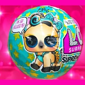 LOL Surprise SUPREME PET Bling Series Ball LIMITED EDITION LUXE PONY