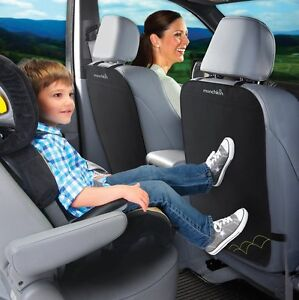 NEW-Munchkin-Deluxe-Kick-Mats-2-Pack-Car-Seat-Back-Protectors-Ideal-for-kids