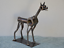 Hand-Made-DOBERMAN-PINCHER-4-Inches-Recycled-Scrap-Metal-Dog miniature 2