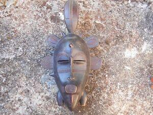 MASQUE-AFRICAIN-ANCIEN-SENOUFO-ART-TRIBAL-PREMIER