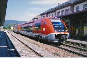 Farb-Foto DB Triebwagen 641 008 Bad Säckingen 2006