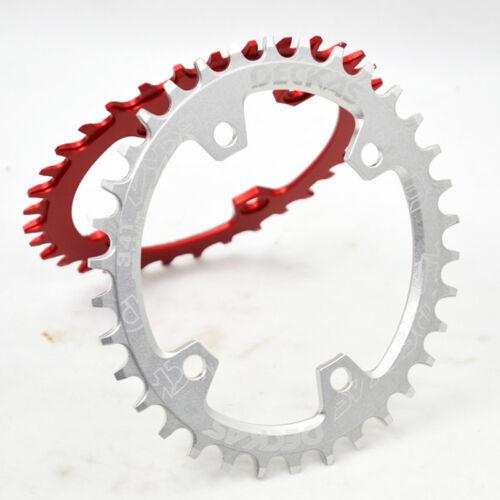 DECKAS 96BCD-S Narrow Wide Chainring Asymmetric MTB Bike Chainwheel 32-38T