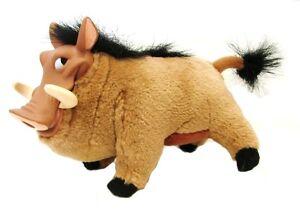 Pumbaa Warthog Lion King Plush Stuffed Animal Walt Disn