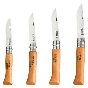 Opinel - Couteau Tradition N6 A N9 Hêtre Lame Carbone - 942.x