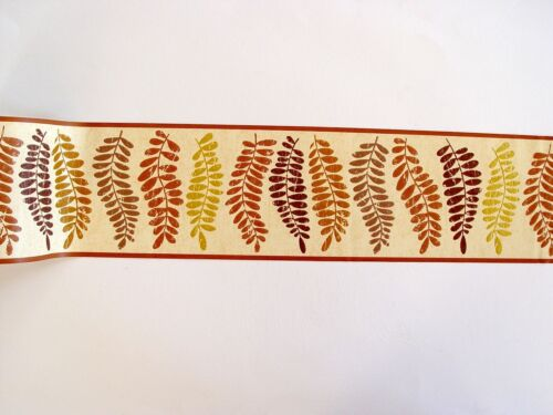Leaf Natural Beige 62636 Alkor autocollantes bordure Borders 5mx12,5cm all-over
