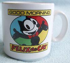 "Vintage FELIX THE CAT "" Good Morning "" Ceramic Child's Small Size MUG"