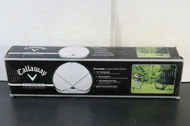 Callaway CT28003 7 ft.x7 ft. Golf Practice Hitting Net for ...