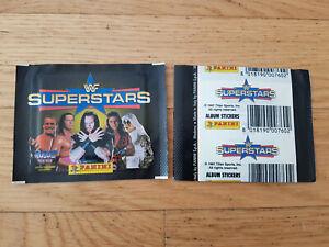 Panini WWF Superstars 1997, 1 sticker pack/packet, D. Johnson The Rock, rookie