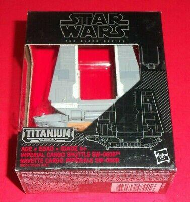 Star Wars Black Series Titane Imperial Cargo Navette 31