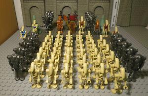 (g5/7) Lego Star Wars Personnages Druides Vador Darth Maul Commandant Soldat Kg-afficher Le Titre D'origine