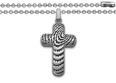 Freundschaftlich Edelstahl Männer Design Kreuz Anhänger Gott Schütze Dich Mit Kugel Kette 60 Cm