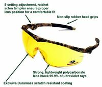 Crews Mossy Oak Sun Safety Glasses (camo Frame) Fast Shipping