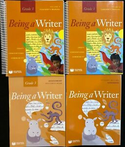3rd Being A Writer Teacher S Manual Vol 1 2 Assessment Book Student Book 9781598923162 Ebay Assessment and instructional insights gained. ebay