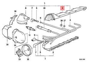 Genuine BMW E30 Ignition Wiring/Spark Plug Upper Guide Tube OEM 12121727687  | eBayeBay