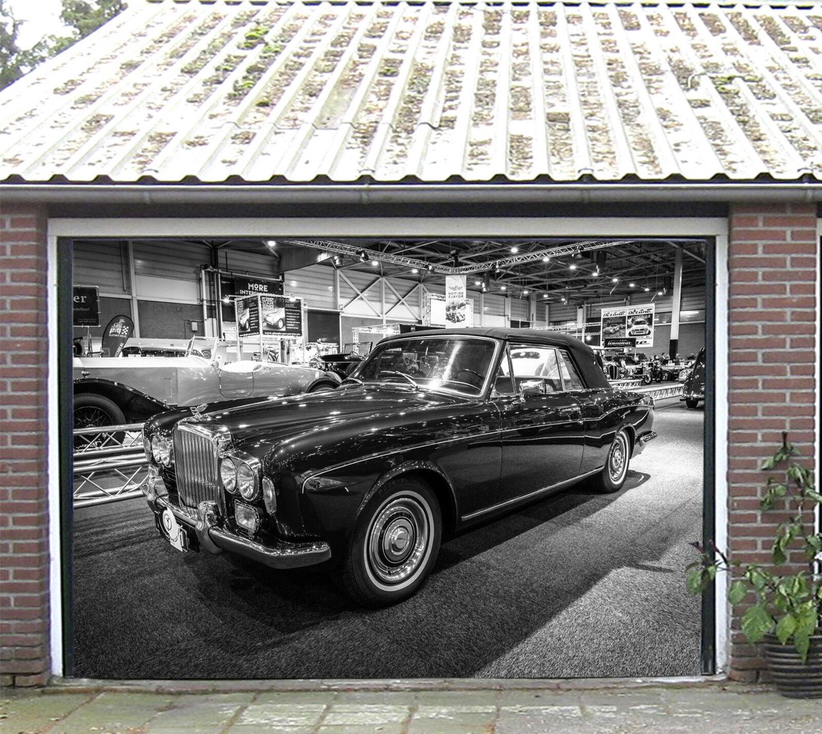 3D Voitures De Luxe 927 Garage Porte Peint en Autocollant Murale AJ WALLPAPER FR