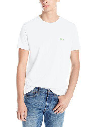 2beac374a Hugo Boss Green Men's Short Sleeve White Basic Tee Size S M L XL XXL 2xl  for sale online | eBay