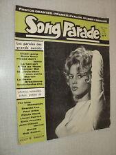 SONG PARADE 26 (12/60) BRIGITTE BARDOT DALIDA PAUL ANKA THE BLUE DIAMONDS DARNAL