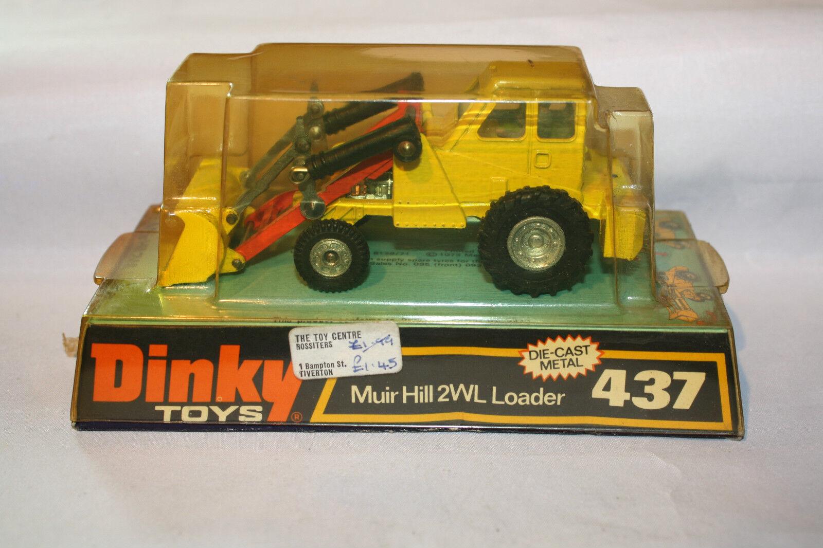 DINKY 437 Muir Hill 2WL Caricatore, Quasi Nuovo nella scatola originale eccellente Bolla