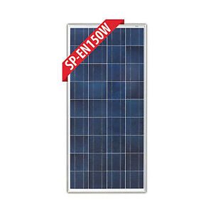 Enerdrive 12v 150w Black Solar Panel Ebay