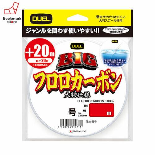 NEW Duel BIG Fluorocarbon 120m 50lb #14 Clear 0.620mm Line H3808 Japan