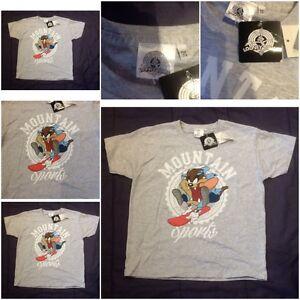 Official Genuine Looney Tunes Taz Devil Tasmanian T-shirt Tee Girls Boys Kids