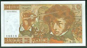 10 Francs Berlioz Du 4/4/1974 Etat: Spl- 1épinglage Lot S 34 18618 Tvzxyn7z-07222233-965467190