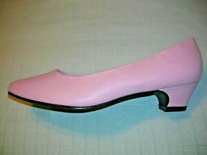 womens-PINK-pumps-shoes-size-12-heels-cushion-comfort-insole-SPRING-EASTER