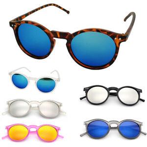 6eb1b6252b48b Retro Women Men Round Frame Cat Eye Sunglasses Fashion UV400 Lens ...
