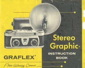 Graflex Stereo Graphic Instruction Manual Original