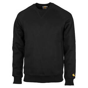 Chase Neck Heren Black Carhartt Crew Pullvoer Wip Sweater fnwZwqxvRP