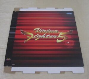 Collectibles 2006 Sega Virtua Fighter 5 Promo Display Set 1 Comfortable And Easy To Wear Manuals & Guides