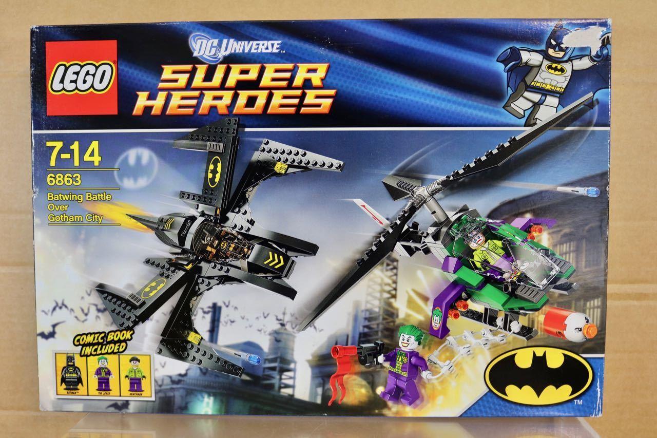 Lego 4863 Batwing Bataille sur Gotham City Dc Universe Super Héros Ensemble