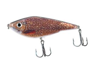 Pike Fishing Lure Muskie Jerkbait Swimbait Big With Hooks Big Bass 120mm 50g New